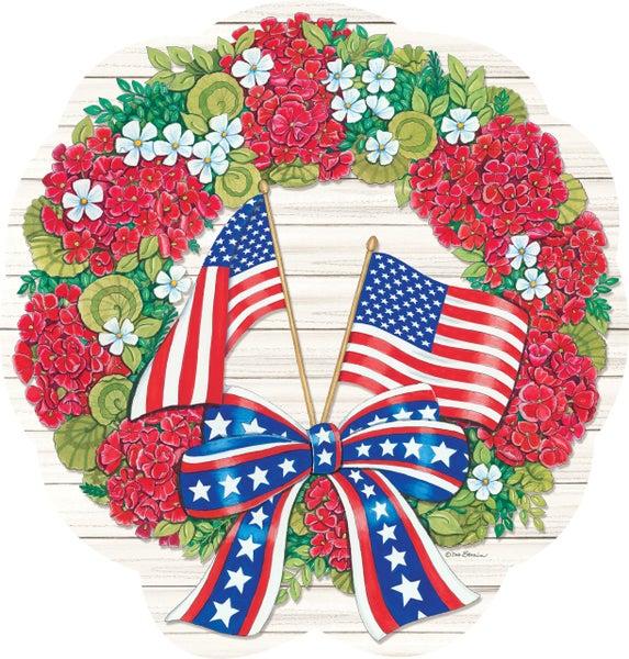 Hang Arounds - Flag Wreath