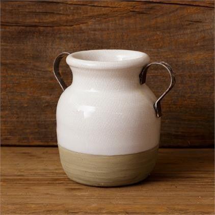 Ceramic 2 Handled Vase
