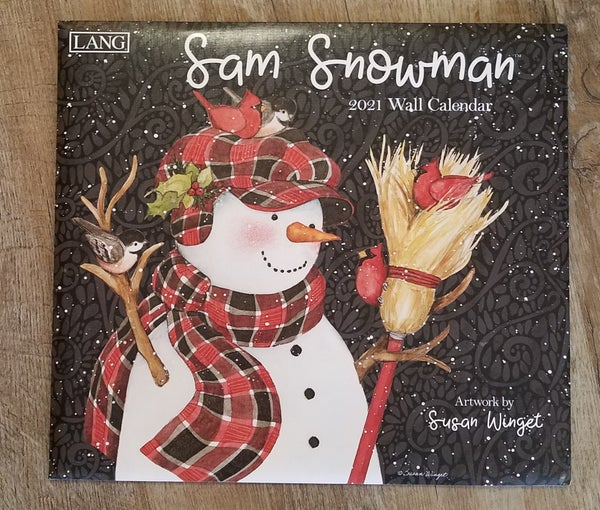2021 Wall Calendar, Sam Snowman