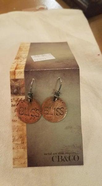 Handmade Earrings, Bliss