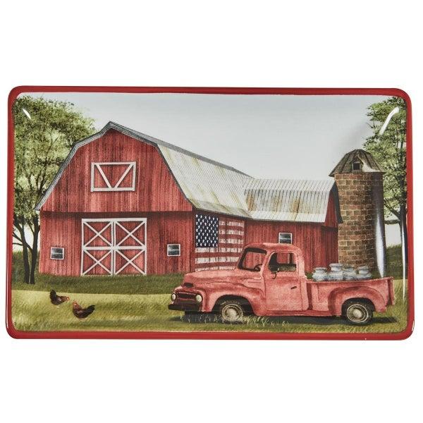 Spoon Rest - Barn & Truck