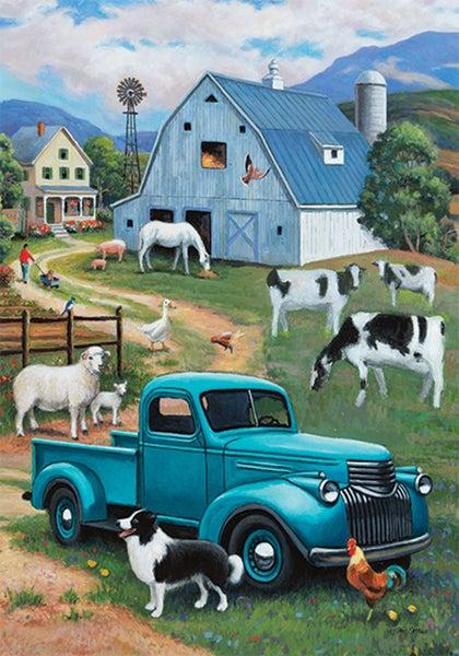 Garden Flag - Farm Truck