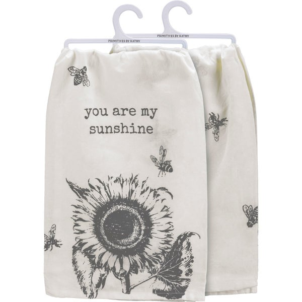 Cotton DIsh Towel - You Are My Sunshine