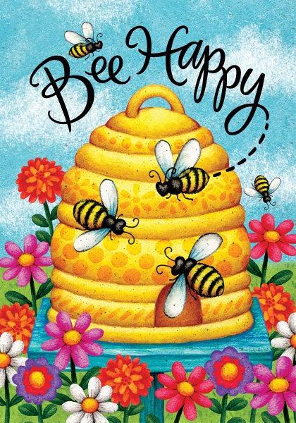 Garden Flag - Bee Skep