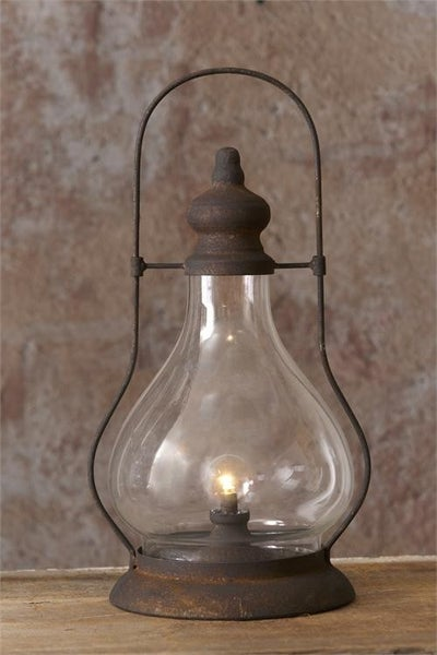 Hurricane Lantern LED and Timer