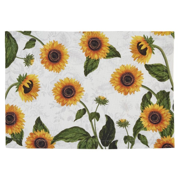 Placemat Sunflower Toile
