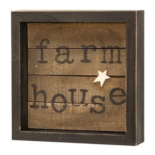 Framed Sign - Farmhouse