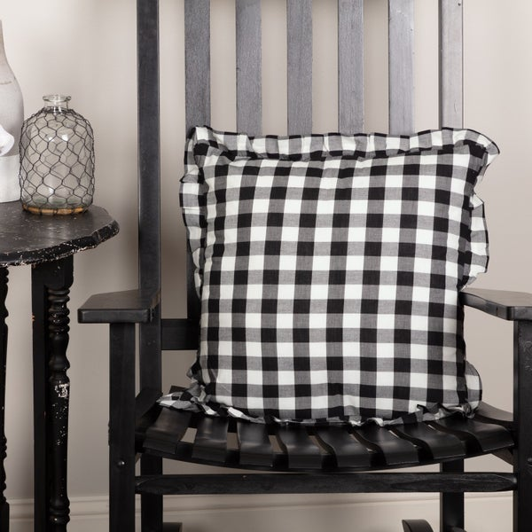 Black & White Pillow, 18 x 18