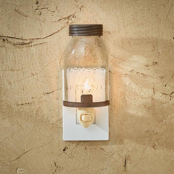 Night Light - Mason Jar