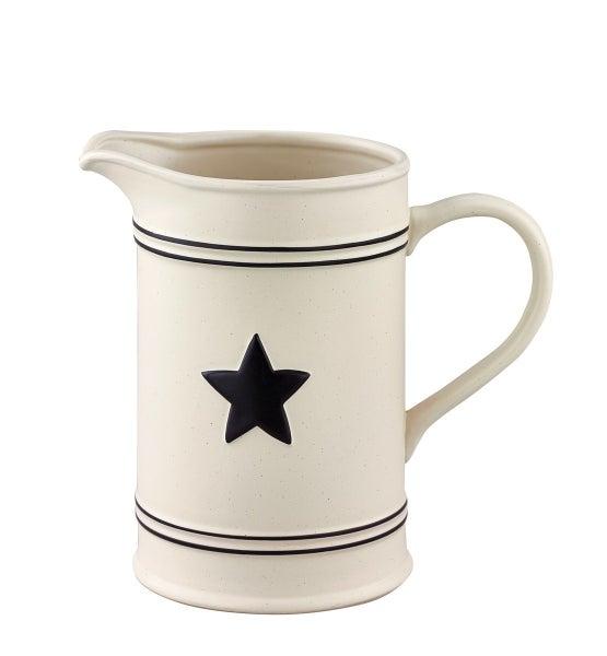 Ceramic Star Pitcher