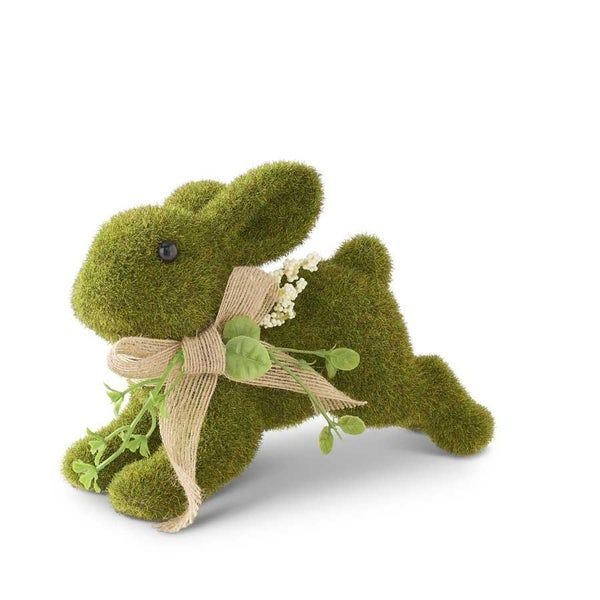 Green Moss Leaping Bunny