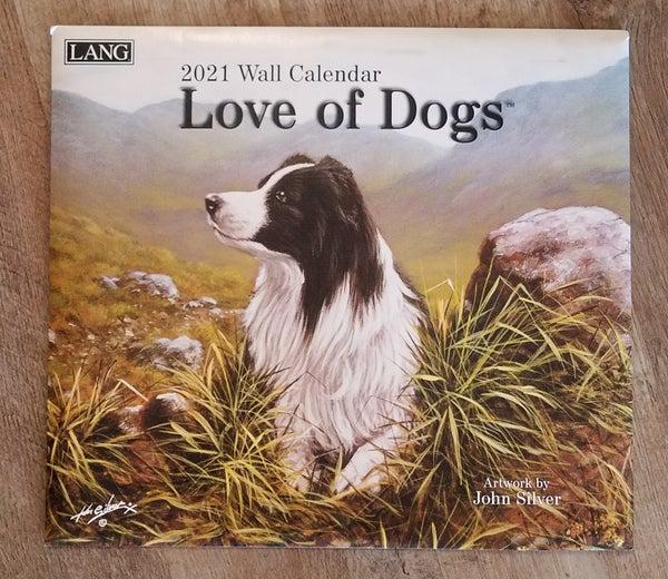 2021 Wall Calendar, Love of Dogs