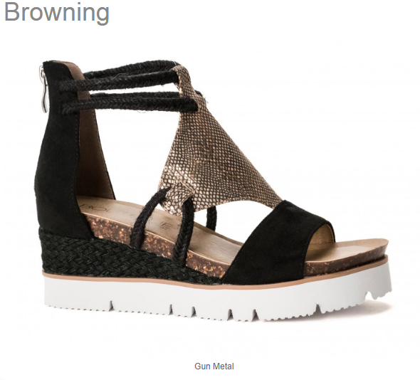 Browning Sandals by Corkys
