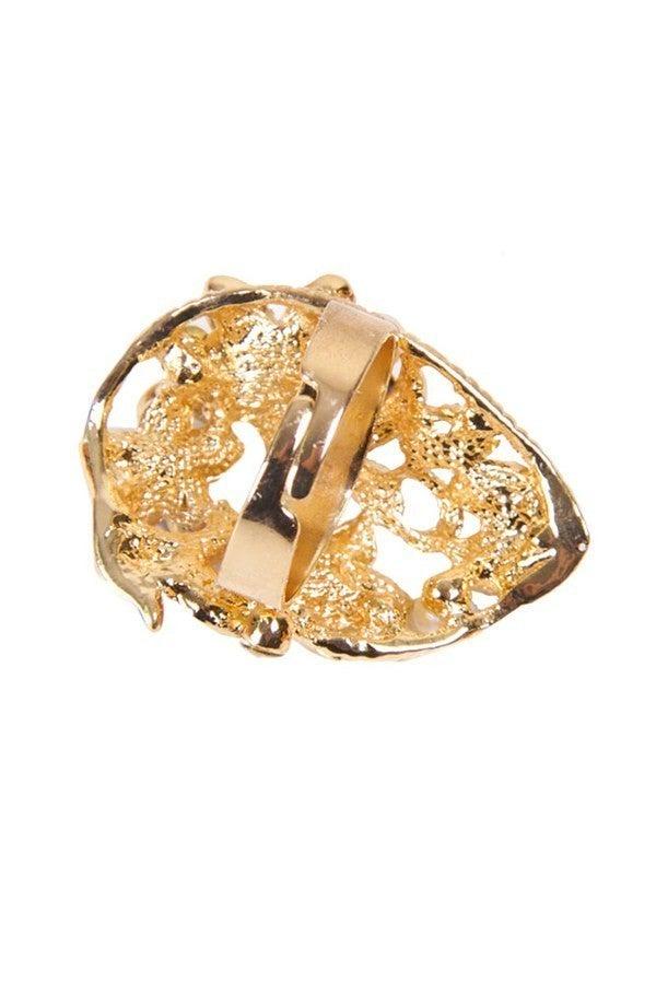 Adjustable Scarf Ring