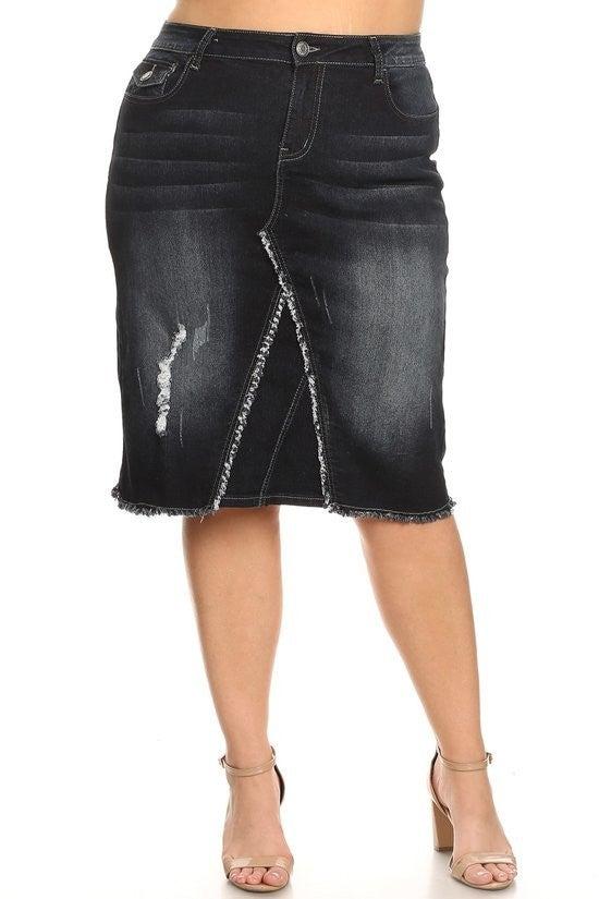 Denim Skirt ~ Ashley