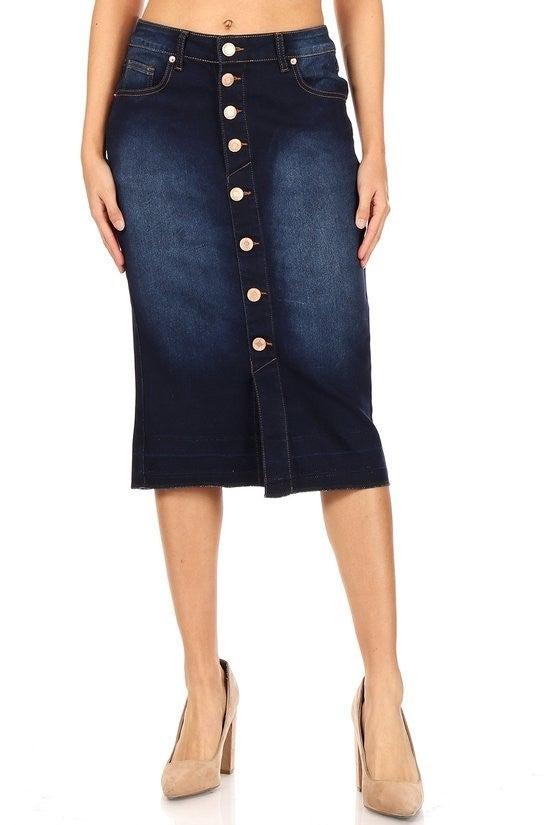 Denim Skirt ~ Shonna