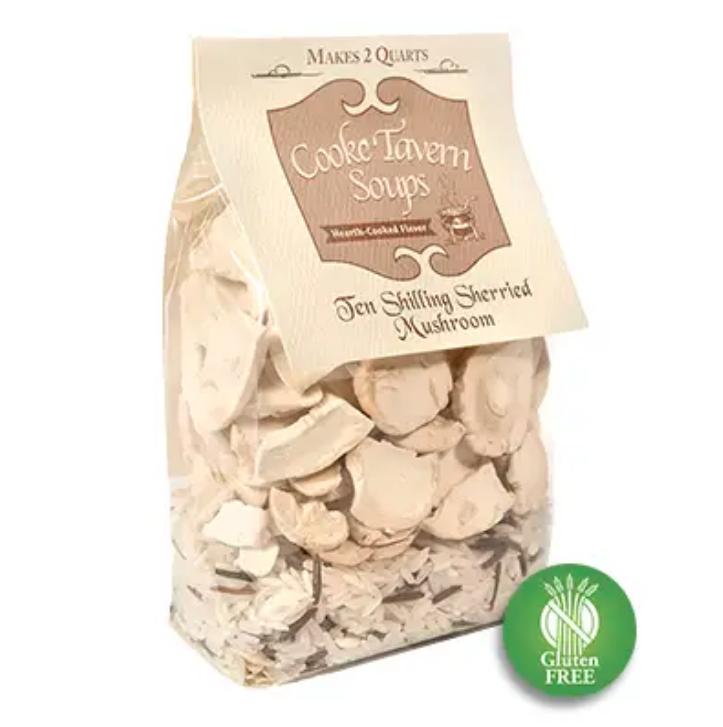 Dried Soup Mix ~ Ten Shilling Sherried Mushroom