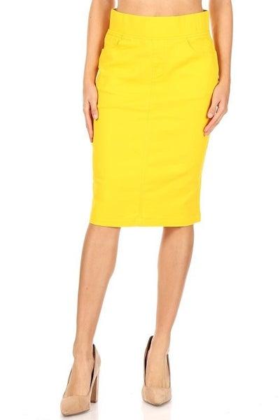 Twill Skirt ~ Myra