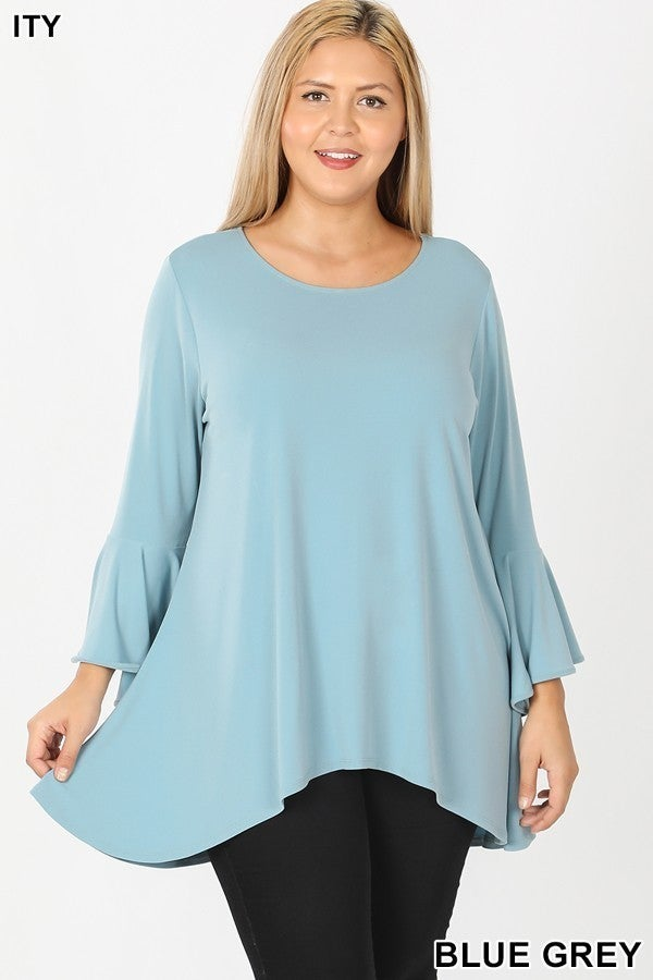 Plus Tunic ~ Claire ~ Available in Multiple Colors
