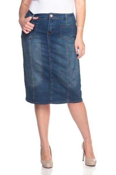Denim Skirt ~ Jody