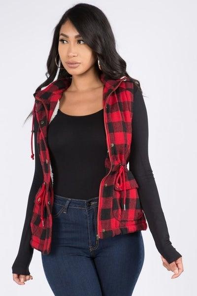 Hooded Vest ~ Nicole