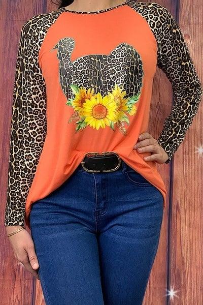 Top ~ Leopard Turkey