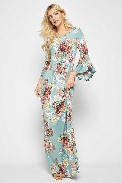 Maxi Dress ~ Kaitlyn