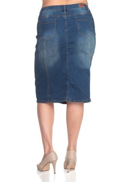Denim Skirt ~ Jody