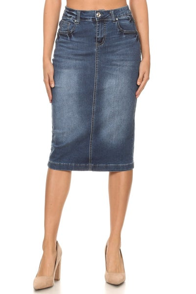 Denim Skirt ~ Misty