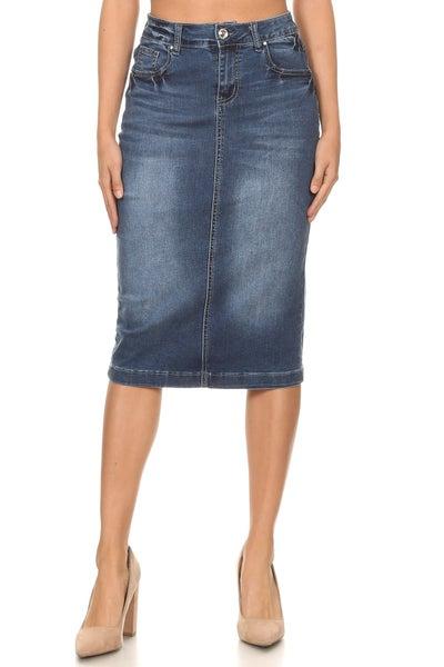 Denim Skirt ~ Misty