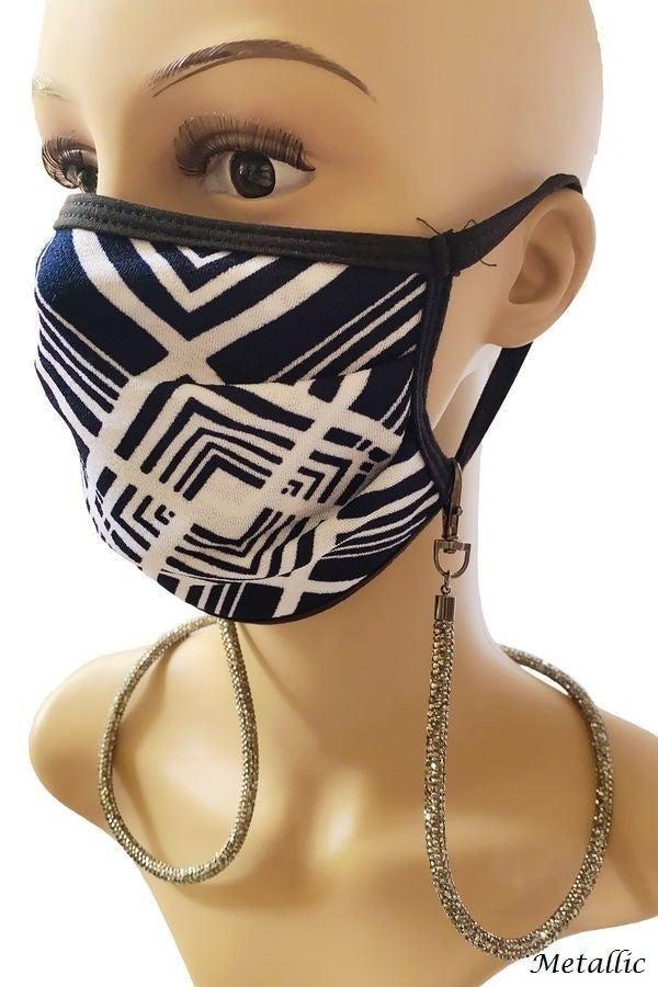 Beaded Mask Holder
