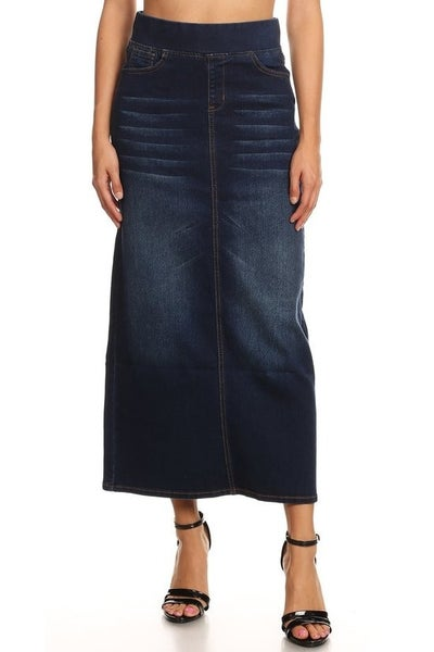 Denim Skirt ~ Callie