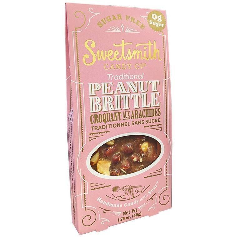 Sugar Free Keto Traditional Peanut Brittle