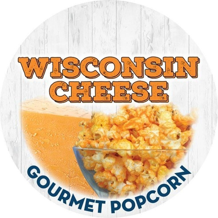 Wisconsin Cheddar Cheese Gourmet Popcorn