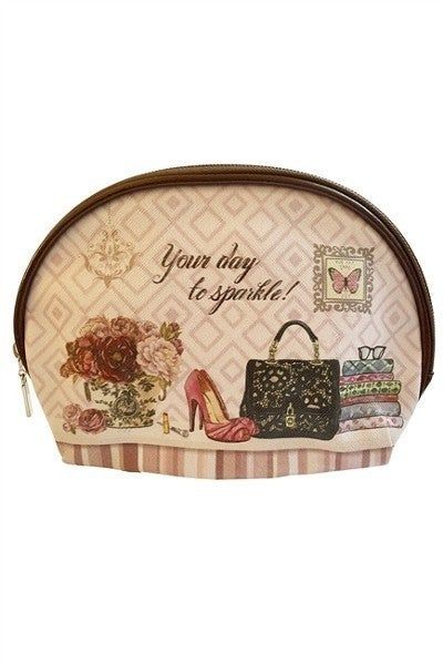 Makeup Bag ~ Miss Sparkle