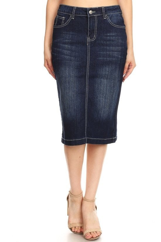 Denim Skirt ~ Geri
