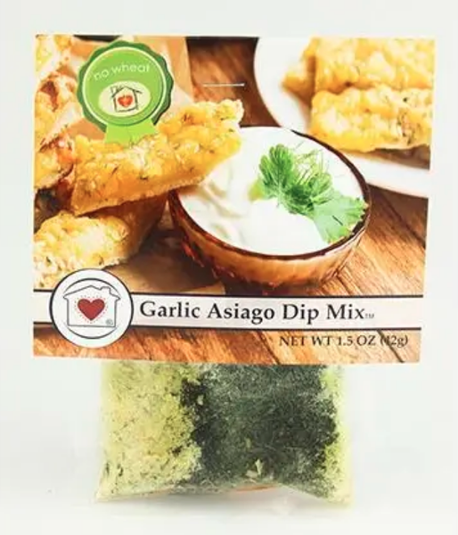 Garlic Asiago Dip Mix