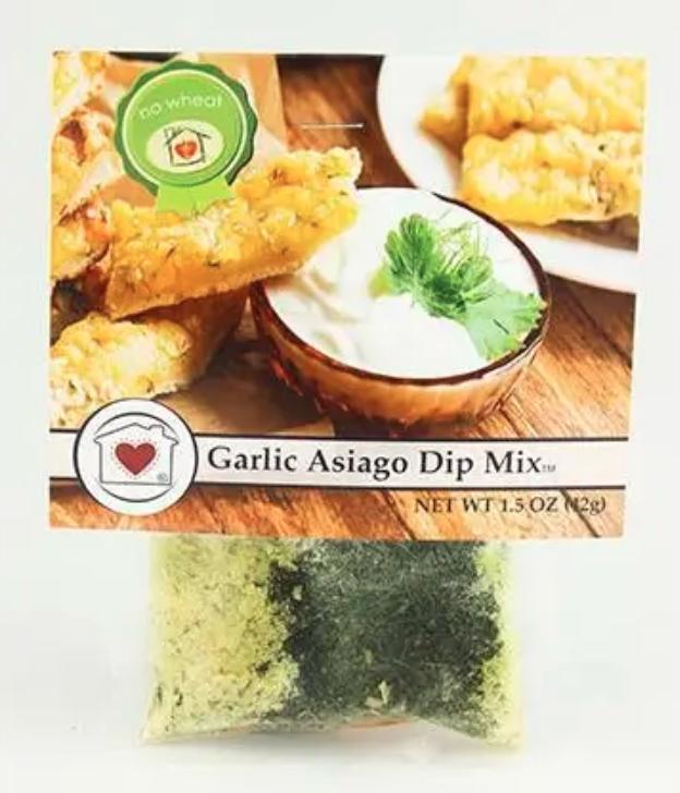 Garlic Asiago Dip Mix