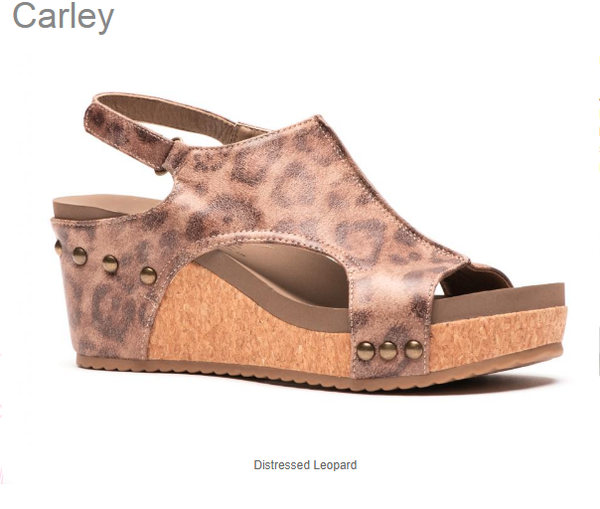 Carley Wedge Sandals