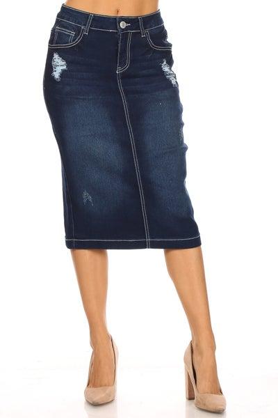 Denim Skirt ~ Kristy