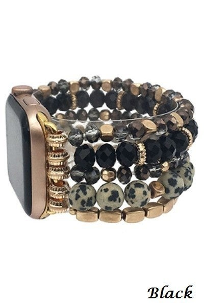 Beaded Apple Watch Band ~ Available in Multiple Colors