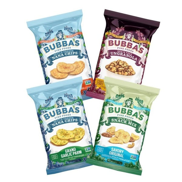 Bubba's Single Serving Snacks