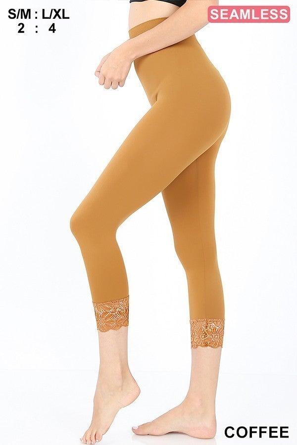 Leggings ~ Chloe ~ Available in Multiple Colors
