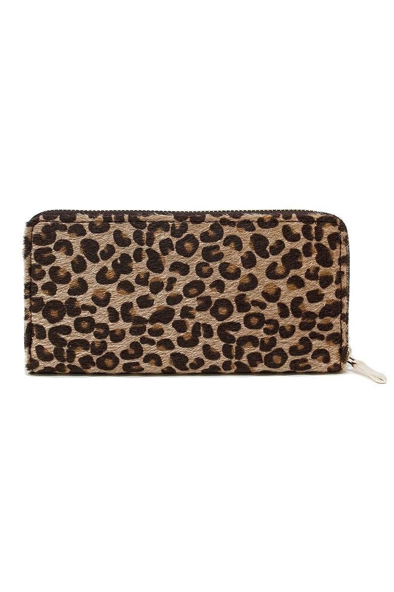 Faux Fur Wallet ~ Whitney