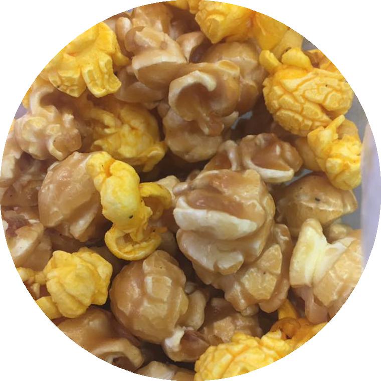 Caramel and Cheese Gourmet Popcorn