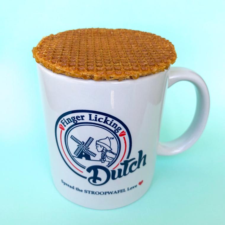 Dutch Caramel Stroopwaffles