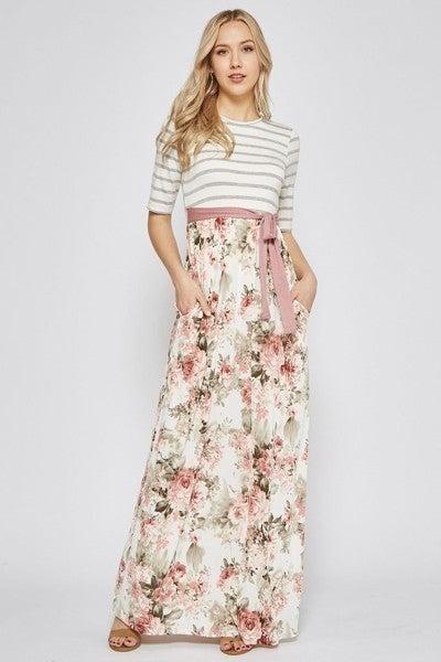 Maxi Dress ~ Adrienne
