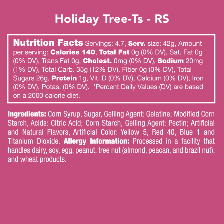 Candy Club Holiday Tree-Ts