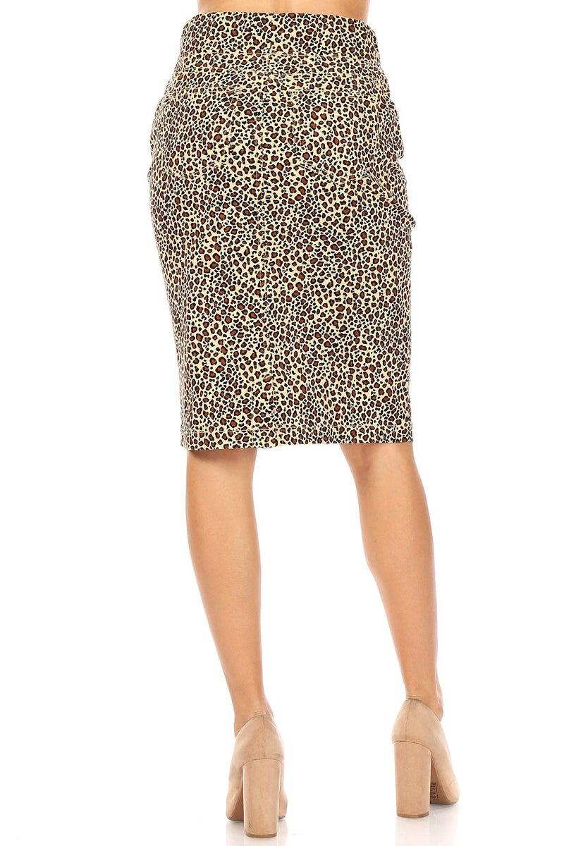 Plus Twill Skirt ~ Rhonda