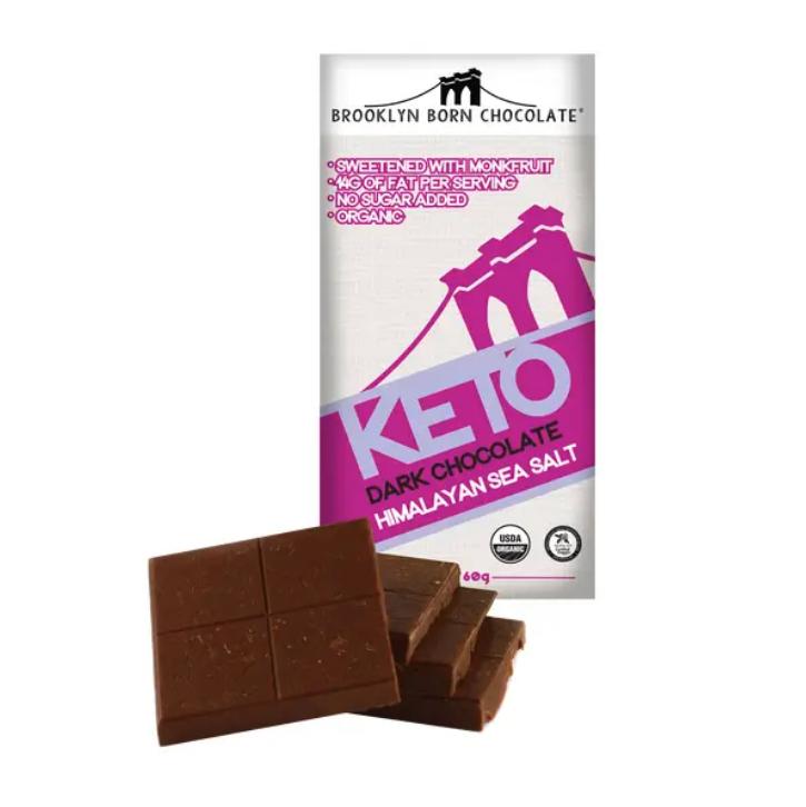 Himalayan Sea Salt Keto Dark Chocolate Bar